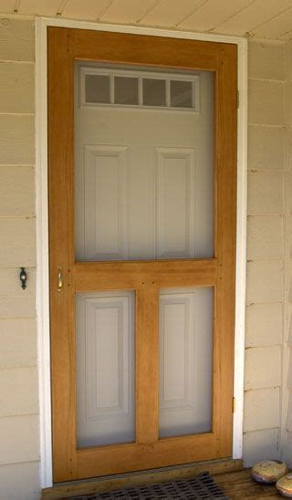 teds woodworking plans review building diy screen door