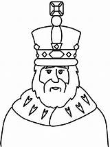 King Coloring Crown Pages Wear sketch template