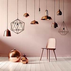 Lampe Rose Gold : la lampe design en 44 photos magnifiques ~ Teatrodelosmanantiales.com Idées de Décoration