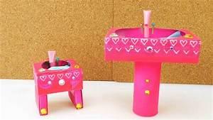Schminktisch Selber Bauen : diy barbie waschbecken selber machen youtube ~ Watch28wear.com Haus und Dekorationen