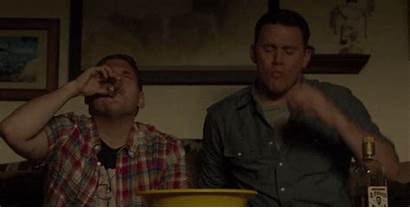 Street Jump Drinking Alcohol Gifs Channing Tatum