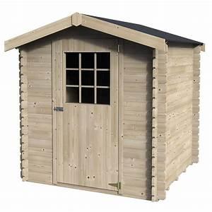 petit abri de jardin bois 441 m2 ep 28 mm flosiba With petit abri de jardin