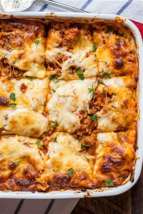 lasagna recipe with cottage cheese s cottage cheese lasagna allfreecasserolerecipes