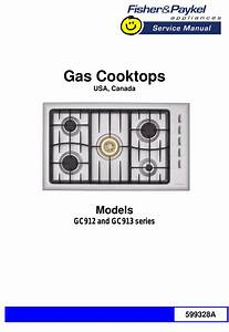 599328a Service Manual Gc912 913 Us Fisher  U0026 Paykel Gas