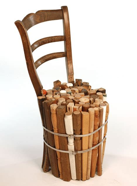 recycled chair 32 amazing exles of recycled furniture art webecoist
