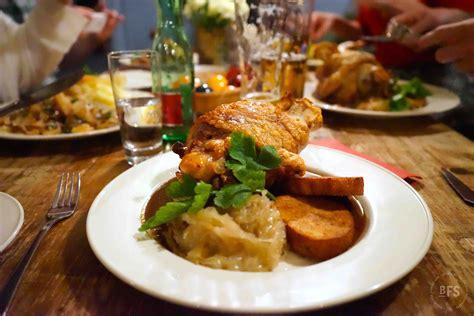 kitchen table size zur haxe berlin food stories