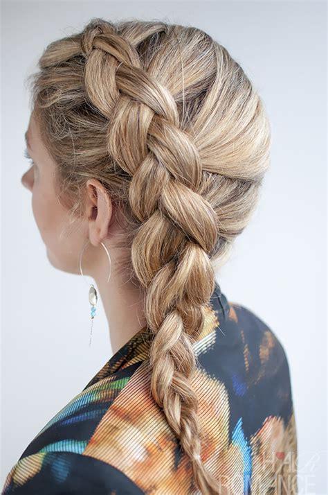 dutch side braid hairstyle tutorial hair romance