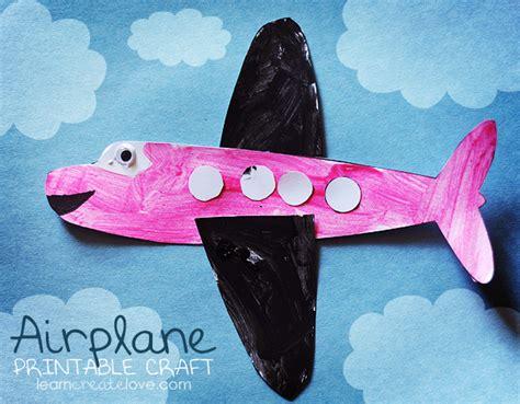 printable airplane craft 544 | craft 089