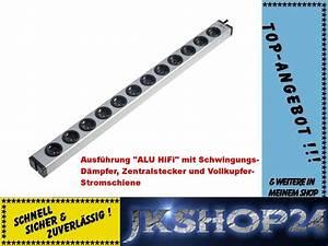 Steckdosenleiste 12 Fach : 12 fach hifi voll aluminium steckdosenleiste 0600x0012203a ~ Orissabook.com Haus und Dekorationen