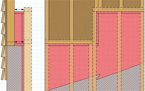 Basement Framing Diy by Basement How Do I Attach The Framing Of A Shorter Wall