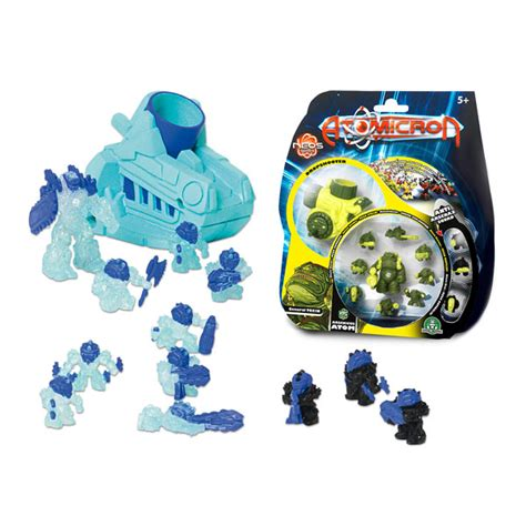 siege canon atomicron blister personnages blister 12 pièces giochi