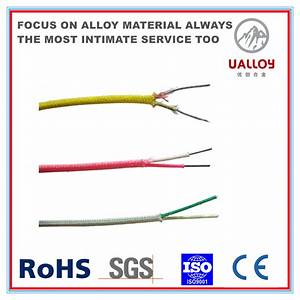 China Yellow Positive Red Negative Thermocouple Wire
