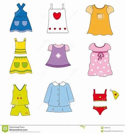Clothes Clipart Spring Summer Clothing Season Sunny