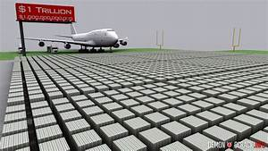 US Debt Visualized: Stacked in $100 dollar bills at 20 ...