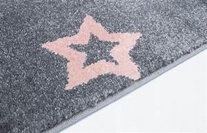 Deko Mit Sternen : teppich mit sternen grau rosa ~ Lizthompson.info Haus und Dekorationen