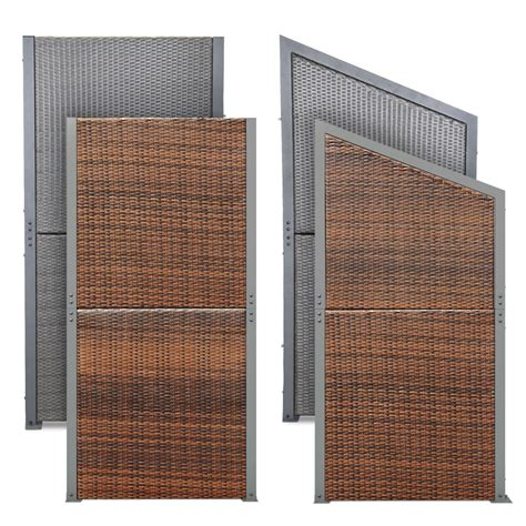 Rattan Sichtschutz Für Terrasse by Rattan Sichtschutz Windschutz Polyrattan Sichtschutzwand