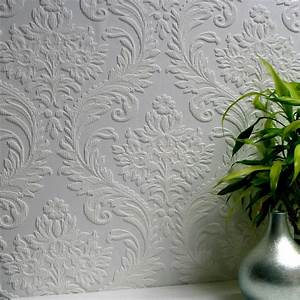 Anaglypta High Trad Paintable Textured Vinyl Wallpaper ...