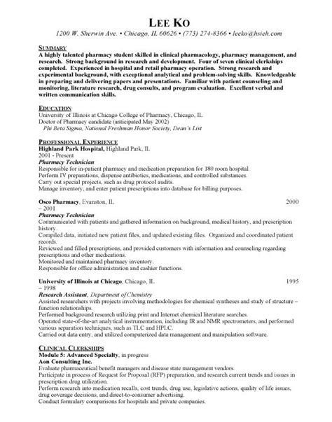 21862 pharmacy technician resume template 17 best ideas about professional resume exles on