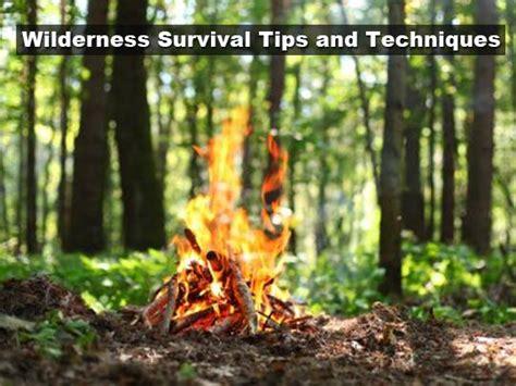 survival wilderness tips techniques tinhatranch rescue