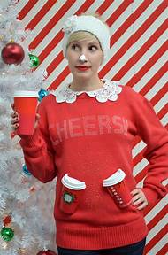 diy ugly christmas sweater ideas - Easy Ugly Christmas Sweater Ideas