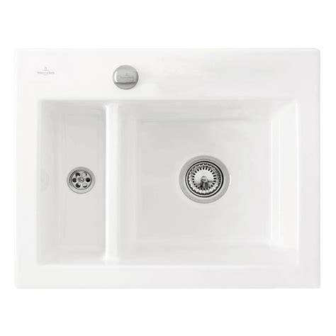 Villeroy & Boch Subway XM Ceramic 1.5 Bowl Kitchen Sink