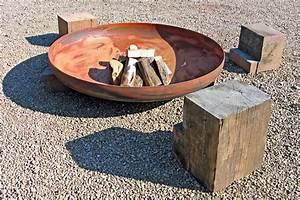 Feuerstellen Im Garten Selber Machen : feuerstelle anlegen diese 20 ideen sorgen f r lagerfeuerromantik ~ Indierocktalk.com Haus und Dekorationen