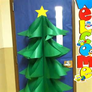 How To Make Whoville Decorations by Christmas Tree Classroom Door Decorations Happy Holidays