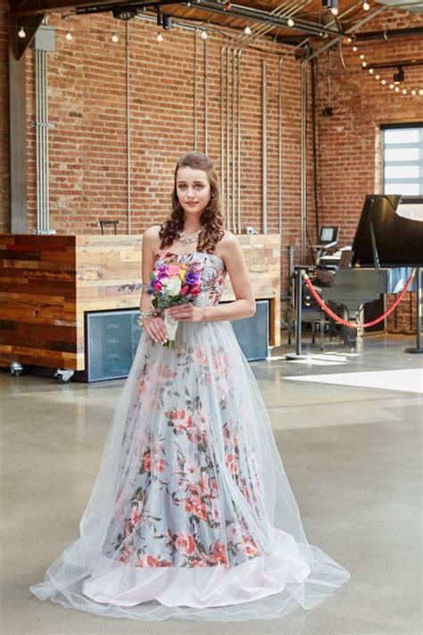 100 Colorful Non White Wedding Dresses Hi Miss Puff