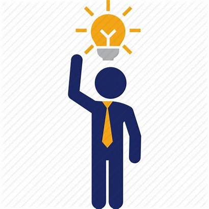 Icon Idea Clever Bulb Business Icons 512px