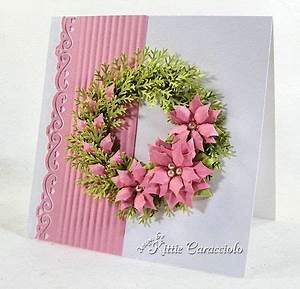 Spellbinders Layered Poinsettias MS Pine Branch punch