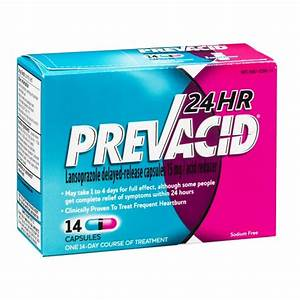 Prevacid 24hr ingredients - Diflucan 100