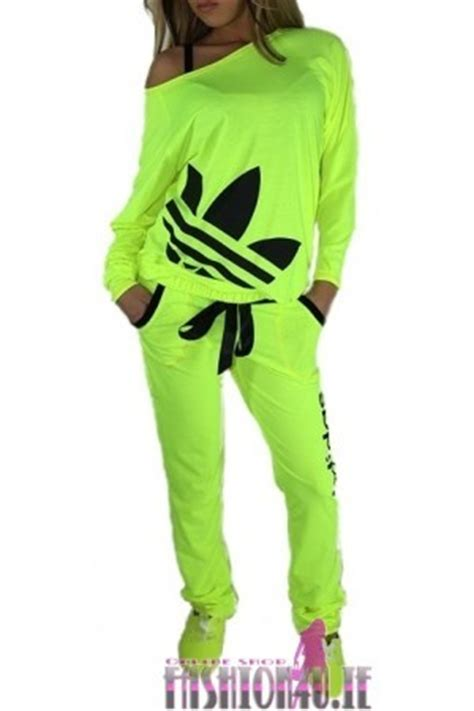 ADIDAS NEON TRACKSUIT LIGHT GREEN 2013 on The Hunt