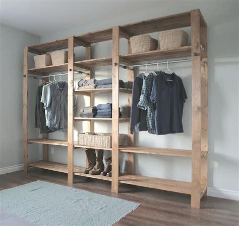 Wood Closet Systems Diy by Diy Modular Closet Systems Home Design Ideas