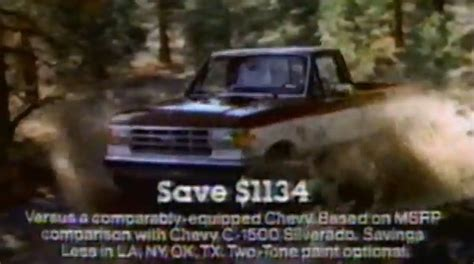 Throwback Video 1988 F-150 Commercial