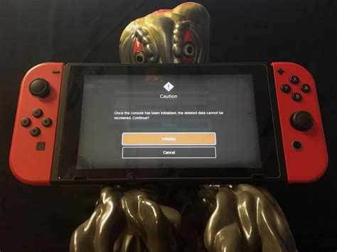how to reset your nintendo switch before selling it imore