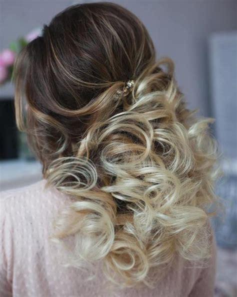 Half Updo Wedding Hairstyles by Half Up Half Wedding Hairstyles 50 Stylish Ideas