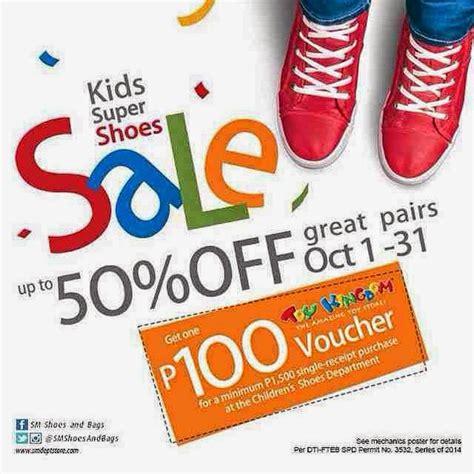 Kinder Verkaufen by Sm Shoe Sale 2014 Sm Department Stores