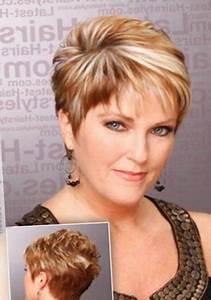 Model Coiffure Femme : coupe de cheveux court femme 50 ans et plus ~ Medecine-chirurgie-esthetiques.com Avis de Voitures