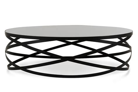 You should find round coffeetables for home or. Modrest Wixon Modern Black Round Coffee Table - Modern Coffee Tables - Living Room
