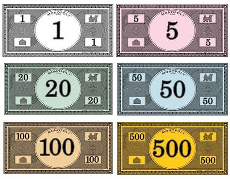 print   monopoly money