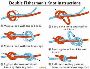 How To Tie A Double Fisherman U2019s Knot