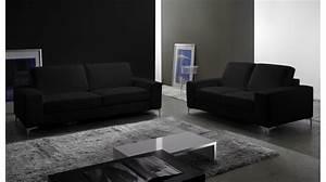 Canapé 3 2 Places : canap cuir 3 places pas cher canap italien ~ Teatrodelosmanantiales.com Idées de Décoration