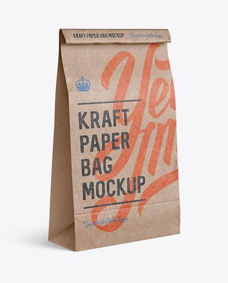 Matte matches tube mockup 66376 free download. Free Kraft Paper Food/Snack Bag Mockup - Halfside View ...