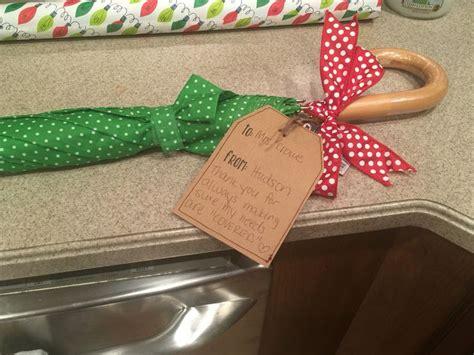 teacher gift umbrella   tag
