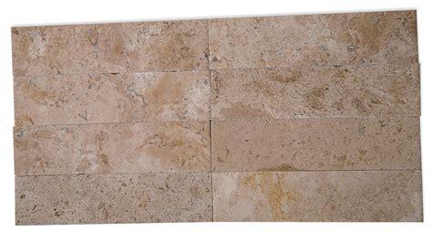 travertine tile store shop 9 pcs sq ft travertine 2x8 brushed stone tile at tilebar com