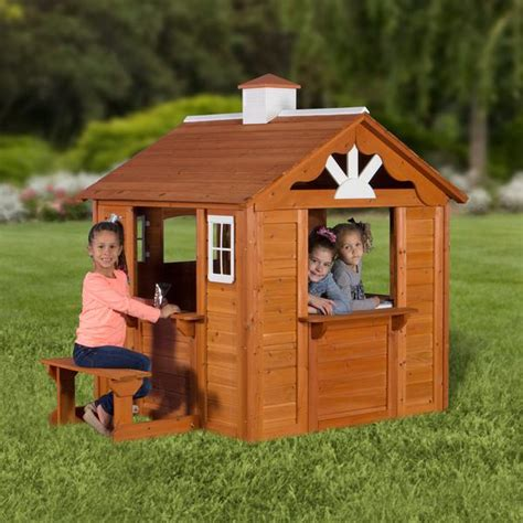 Backyard Cottage Playhouse by Summer Cottage Playhouse Playhouses Backyard Discovery