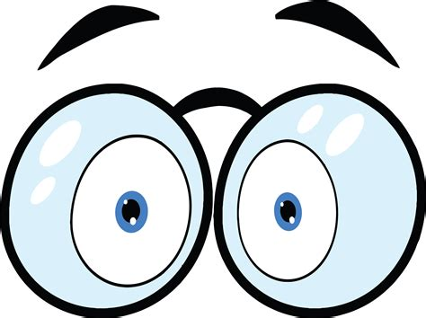 Funny Eyes Cartoon