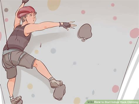 How Start Indoor Rock Climbing With Pictures Wikihow
