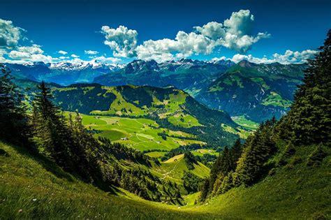 Image libre: Paysage, montagne, nature, bois, sommet de ...
