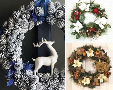 stunning christmas wreath ideas 20 beautiful christmas wreath decorating ideas design swan
